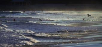 Australischer Strand am Nachmittag stock video