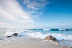 Australischer Strand während des Tages Stockbild