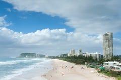 Australischer Strand während des Tages Lizenzfreie Stockfotografie