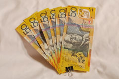Australisches #50.00 Stockfoto