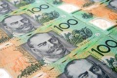 Australisches Bargeld Lizenzfreie Stockfotos