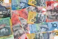 Australisches Geld Stockfotografie