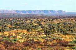 Australisches Hinterland Lizenzfreies Stockfoto