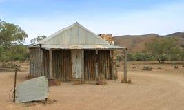 Australisches Hinterland - Haus stockfotografie