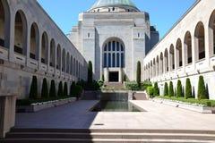 Australisches Kriegs-Denkmal Canberra Lizenzfreie Stockfotos