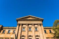 Australisches Museumsgebäude auf College-Straße, Sydney Lizenzfreies Stockbild