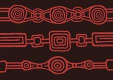 Australisches Muster Stockbild