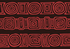 Australisches Muster Stockfoto