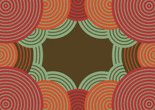 Australisches Muster Lizenzfreies Stockbild