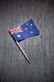 Australisk flagga Arkivbilder