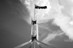 Australisk flagga Arkivbild