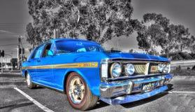 Australisk Ford för klassisk 70-tal XY falk Arkivbilder
