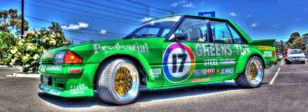 Australisk Ford racerbil Arkivbilder