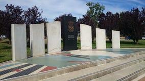Australisk köpman Navy Memorial Arkivbild