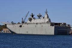 Australisk marin, skepp royaltyfria foton