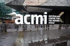 Australisk mitt för den rörande bilden ACMI - Melbourne Fotografering för Bildbyråer