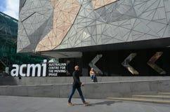 Australisk mitt för den rörande bilden ACMI - Melbourne Royaltyfria Foton