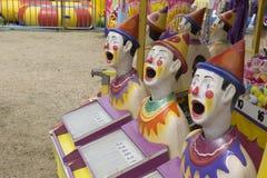 Australisk nöjesplatsdragning 'som skrattar clowner 2015 Arkivfoto