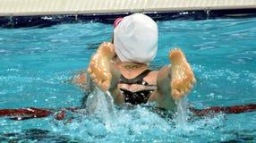 Australisk olympier- och världsmästaresimmare Emily Seebohm royaltyfri bild