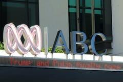 Australisk radio- och televisionsbolaget Australien för abc Royaltyfria Bilder