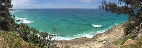 Australisk sommarstrand arkivbild