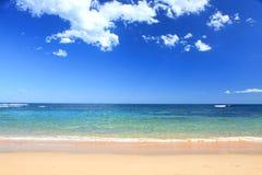 Australisk strand i sommar Royaltyfria Bilder