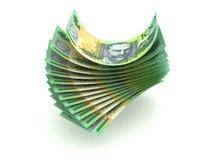 Australisk valuta Arkivfoto