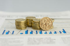 Australisk valuta Royaltyfria Foton
