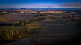 Australisk vildmark från surret Arkivbilder