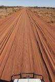 Australisk vildmarkväg royaltyfri fotografi