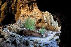 Australiska affärsföretag för en landskapspeleologi Royaltyfria Foton