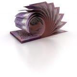 5 australiska dollar gruppering Royaltyfria Foton