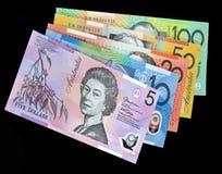 Australiska dollar pengar Arkivbilder