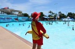 Australiska livräddare i Gold Coast Queensland Australien Royaltyfria Foton