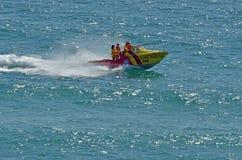 Australiska livräddare i Gold Coast Queensland Australien Arkivbild