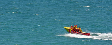 Australiska livräddare i Gold Coast Queensland Australien Arkivfoto