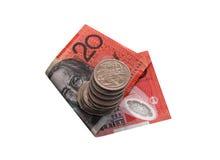 Australiska pengar Royaltyfria Bilder