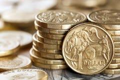 Australiska pengar Arkivbild