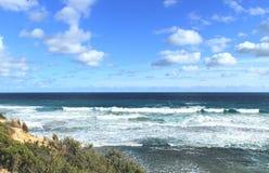 Australiskt havlandskap Arkivfoto