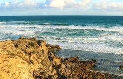 Australiskt havlandskap Arkivbilder