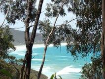 Australiskt havlandskap Arkivbild
