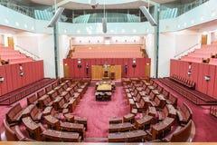 Australiskt hus för nationell parlament i Canberra Arkivfoton