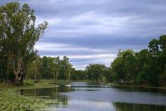 Australiskt landskap för land Royaltyfri Foto