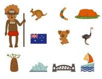 Australiskt symbol Arkivfoto