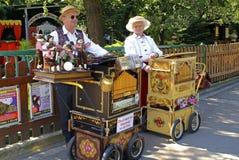 Austria, órgano de barril Fotografía de archivo