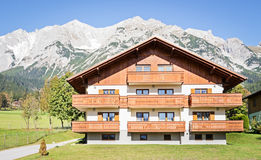 Austria. Old-fashioned farmhouse at austria (near ramsau Royalty Free Stock Photos