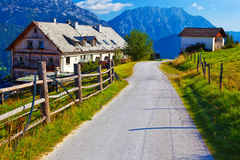 Alps summer landscape Royalty Free Stock Photos