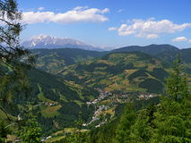 Austria,Alps-outlook on Wagrain Stock Photography