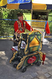 Austria_Barrel Organ Royalty Free Stock Images