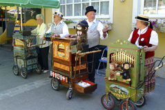 Austria_Barrel Organ Stock Photos